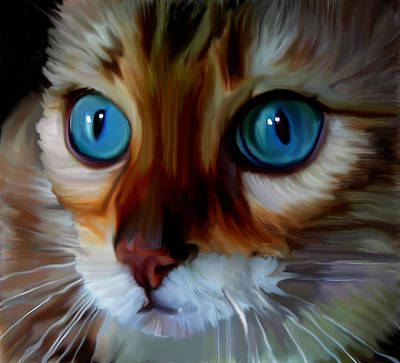 Marble Eyes Painting - Marbles  by Susan  Solak