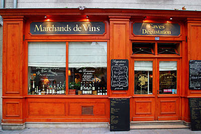 Photograph - Marchands De Vins by John Galbo
