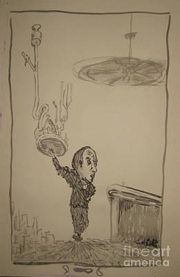 Drawing - Marche Un Delirio Para Dos by Raul Morales