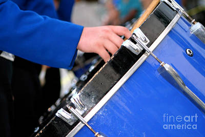 Photograph - Marching Band Bass Drum by Susan Stevenson
