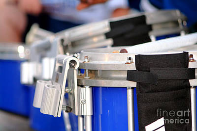 Photograph - Marching Band Drum Section by Susan Stevenson