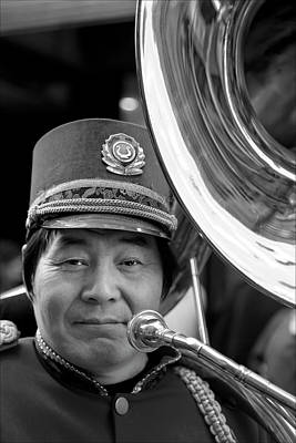 Musicians Royalty Free Images - Marching Band Musician Lunar New Year NYC Chinatown 2012 Royalty-Free Image by Robert Ullmann