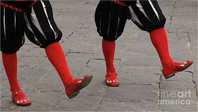 Easter Parade Photograph - Marching Feet by Bob Christopher