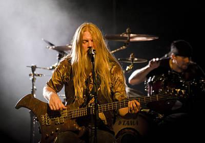 Photograph - Marco Hietala And Jukka Nevalainen - Nightwish  by Saija  Lehtonen