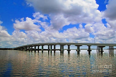 Photograph - Marco Island Bridge by Danuta Bennett