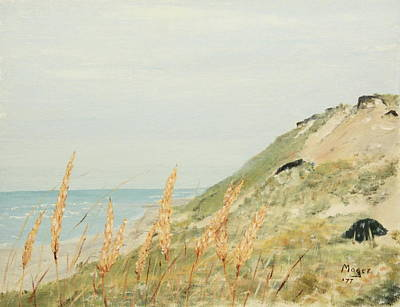 Painting - Marconi Beach by Alan Mager