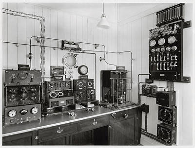 Black Commerce Photograph - Marconi Radio Apparatus by Humanities & Social Sciences Librarynew York Public Library
