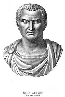 Marcus Antonius (83?-30 B.c.) Art Print by Granger