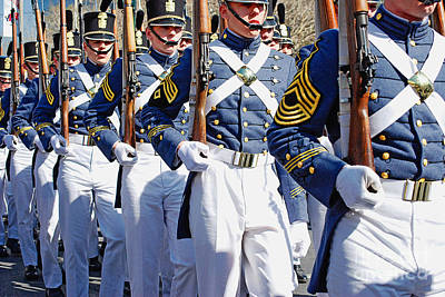 Photograph - Mardi Gras Marching Soldiers by Kathleen K Parker