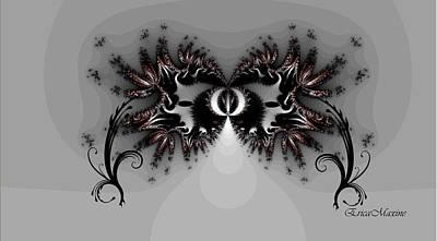 Digital Art - Mardi Gras Mask 3 by Ericamaxine Price
