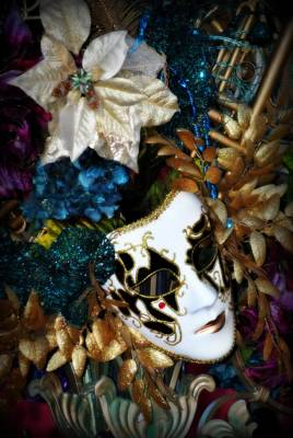 Masks Photograph - Mardi Gras Mask Of Me by Amanda Eberly-Kudamik