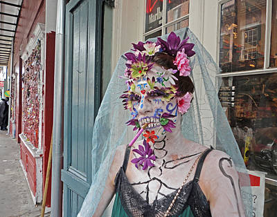 Photograph - Mardi Gras Voodoo In New Orleans by Louis Maistros