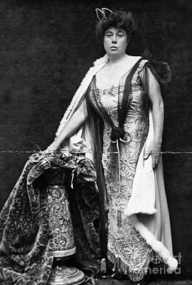 Photograph - Margaret Molly Brown  (1867-1932). The Unsinkable Molly Brown. American Socialite, Philanthropist, Activist, And Survivor Of The Titanic. Photograph, C1900 by Granger