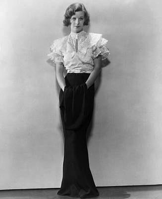 Fluttering Photograph - Margaret Sullavan In The 1930s by Everett