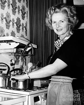 Margaret Thatcher (1925- ) Art Print by Granger