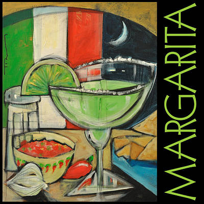 Margarita Poster Painting by Tim Nyberg