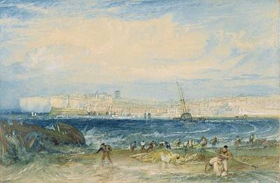 1775 Painting - Margate by Joseph Mallord William Turner