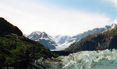 Photograph - Margerie Glacier by C Sitton