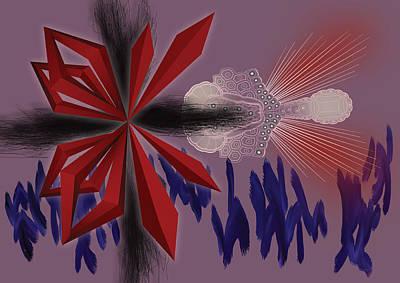 Fruit Tree Art Digital Art - Margielo by Foltera Art