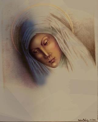 Queen Mary Digital Art - Maria by Alberto Galvez