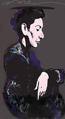 Sopranos Mixed Media - Maria Callas by Noredin Morgan