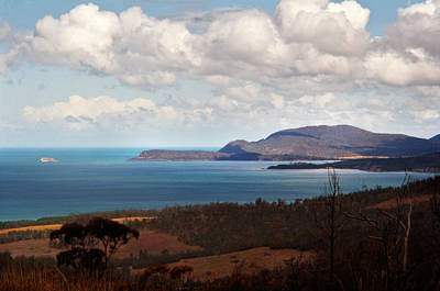 Photograph - Maria Island Across Mercury Passage by Odille Esmonde-Morgan
