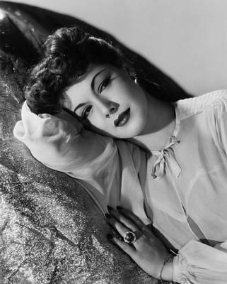 Char-proj Photograph - Maria Montez, 1943 by Everett