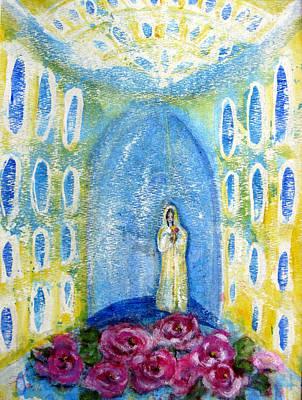 Maria Rosa Mistica Art Print