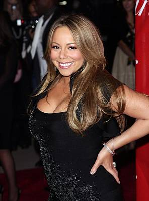 Mariah Photograph - Mariah Carey At Arrivals For 21st by Everett