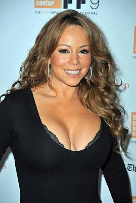Mariah Carey At Arrivals For New York Art Print