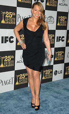 Mariah Photograph - Mariah Carey In Attendance For 25th by Everett