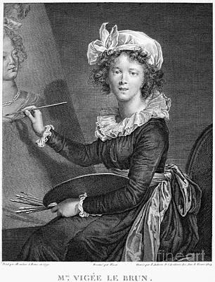 Marie Anne Vigee-lebrun Print by Granger