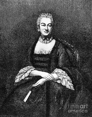 Marie De Vichy-chamrond Art Print by Granger