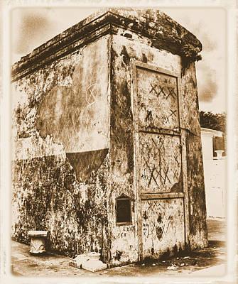 Voodo Photograph - Marie Laveau Tomb by Ellis C Baldwin