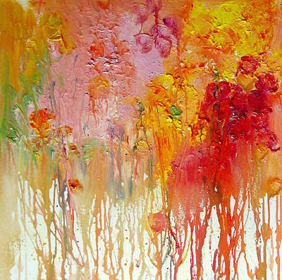 Painting - Marigolds by Wendy Mcwilliams
