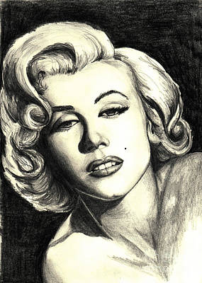 Retro Painting - Marilyn Monroe by Debbie DeWitt
