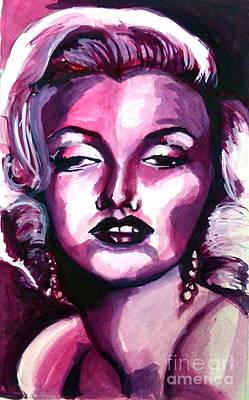 Marilyn Monroe Art Print by Hannah Chusid