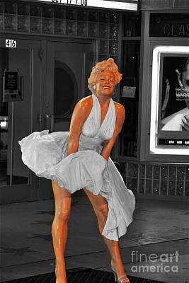 Photograph - Marilyn Monroe II by John Black