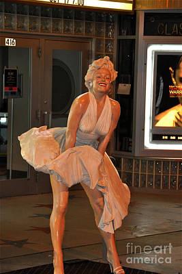 Photograph - Marilyn Monroe by John Black