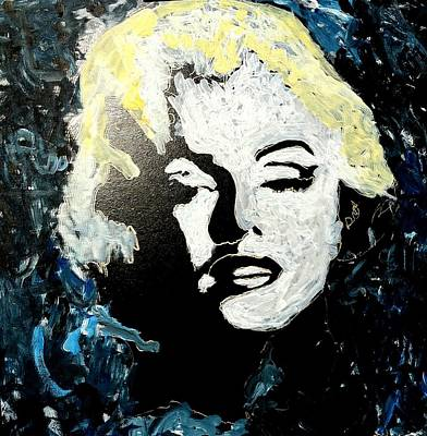 Painting - Marilyn Monroe  by Neal Barbosa