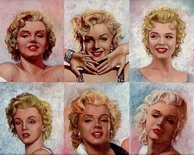 Marilyn Monroe Print by Tim Kelly