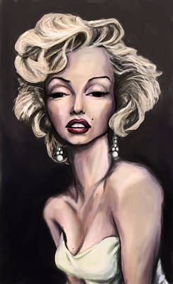 Marilyn Monroe Art Print by Tyler Auman