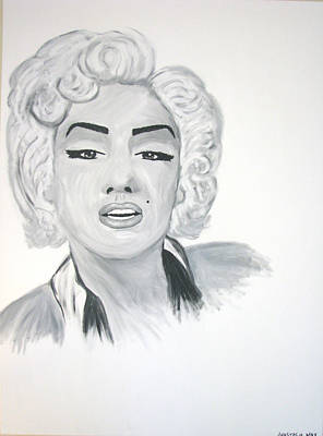 Marilyn Munroe Painting - Marilyn Munroe by Anastasia May