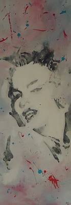 Film Painting - Marilyn Pink by Nick Mantlo-Coots