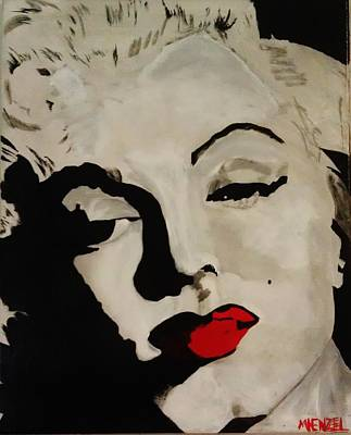 Painting - Marilyn2 by Michael Henzel