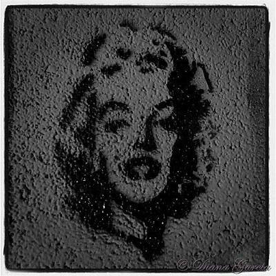 Actors Wall Art - Photograph - #marilynmonroe #marilyn #monroe #beauty by Diana Garcia