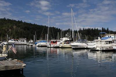 Photograph - Marina At Deer Harbor by Lorraine Devon Wilke