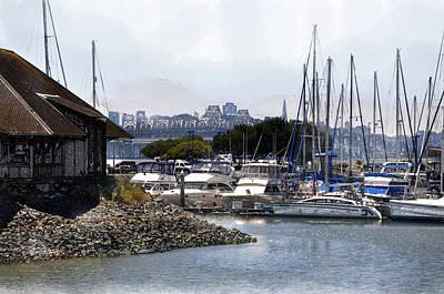 Bay Area Digital Art - Marina At Emeryville by Roy Williams