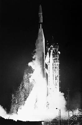 Photograph - Mariner 1: Launch, 1962 by Granger
