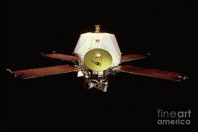 Mariner 9 Satellite Art Print